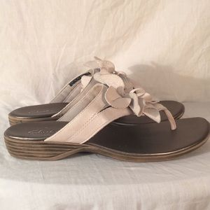 clarks bendables sandals flower